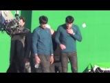Звездный путь 2 / Стартрек: Возмездие (2013) Видео со съёмок