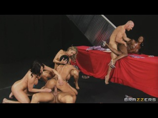 Miss Titness America - Diamond Jackson & Jewels Jade & Brandi Love & Kendra Lust, Johnny Sins & Bill Bailey